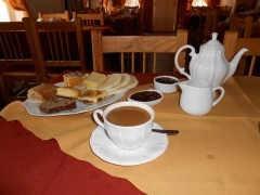 Traditional Welsh tea